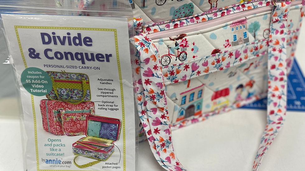 'Divide & Conquer' Bag Pattern
