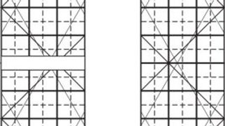 "Line Grid - 6"" x 1/2"""