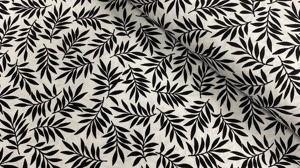 Century Black on White #9695 (per m)