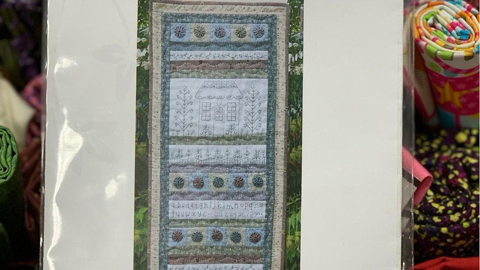 'Cottage in Bloom' Pattern - Gail Pan Designs