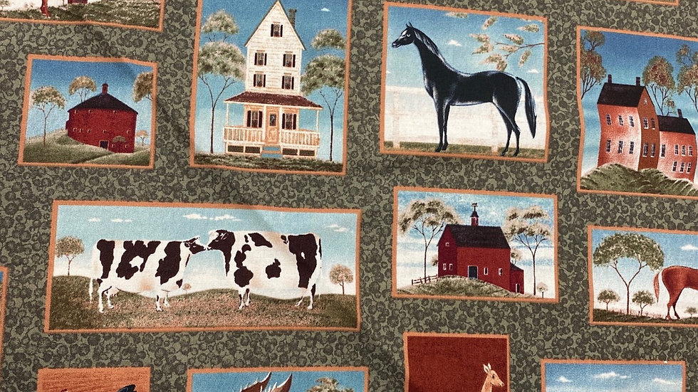Farmyard - Quilting Treasures (per m)