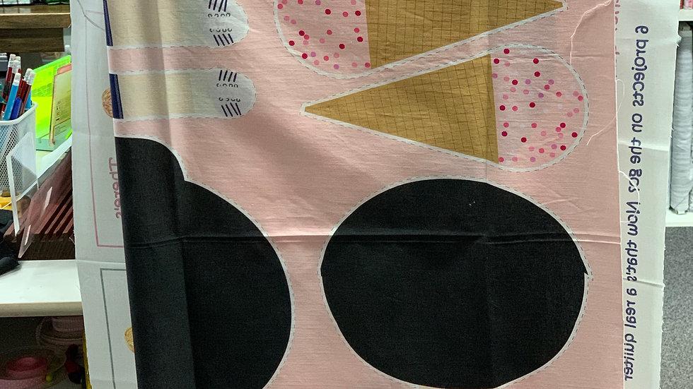 'Rosie & Rowan Dolls' Fabric Panel