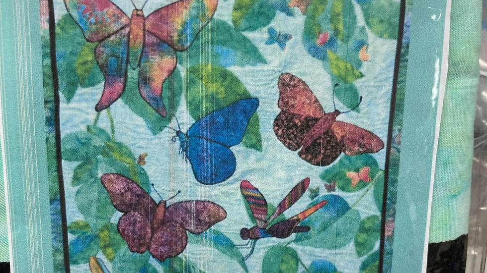 'Butterfly' Fabric Panel