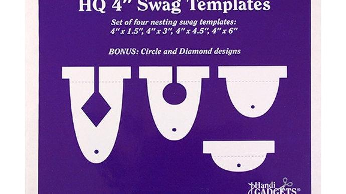 "Swag Templates - 4"" set"