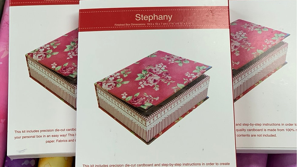 Stephany Rinske Stevens Box