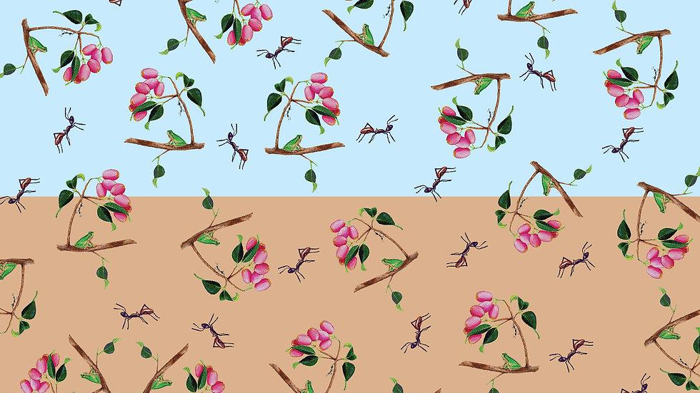 Wildlife Art v2 Ants (per m) split-bolt