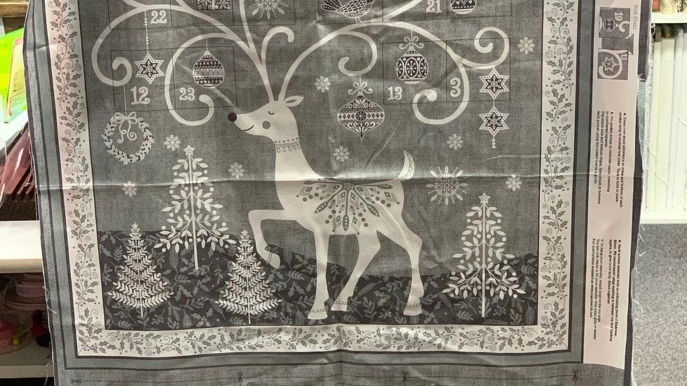 'Reindeer' Fabric Panel