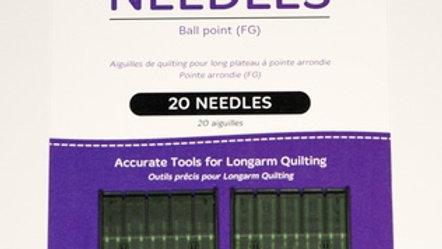 Longarm Needles - Ball Point (20)