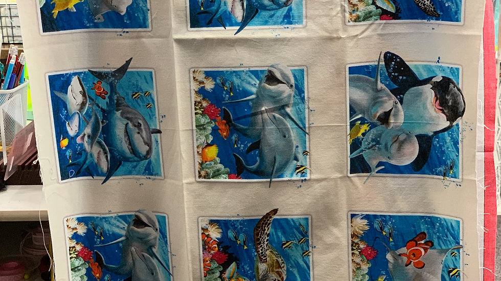 'Finding Nemo' Fabric Panel