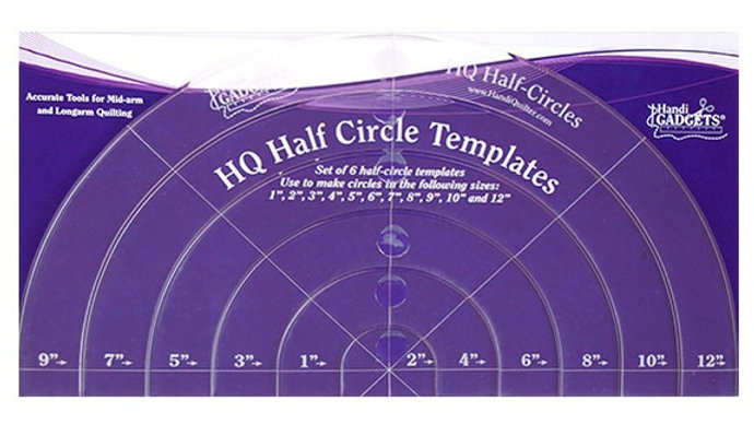 Half Circles Templates (set)