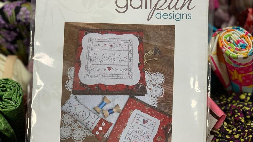 'Little Bird Sewing Set' - Gail Pan Designs
