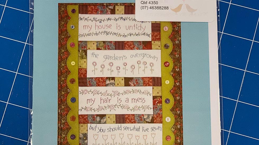 'Stitcher's Priority' Pattern - The Birdhouse