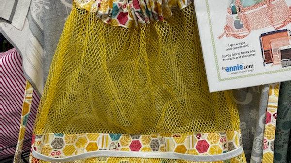 'Meshing Around' drawstring bag pattern only