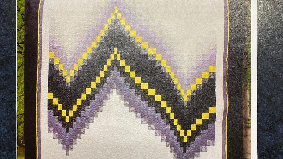Quilt Pattern - 'No Measure Bargello'