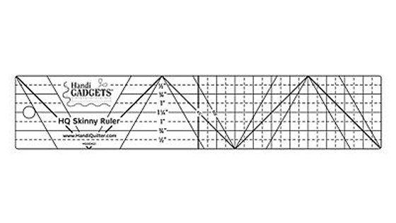 "Skinny Ruler 2"" x 10"""