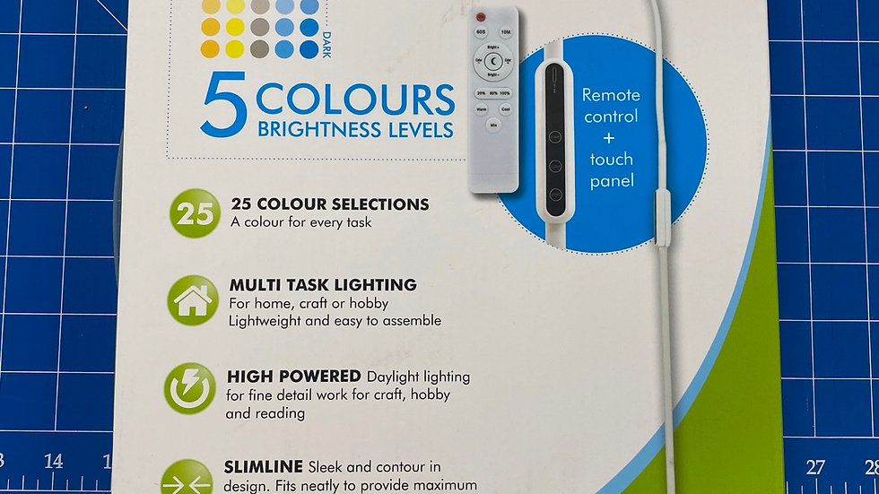 Floor Lamp LED with remote control