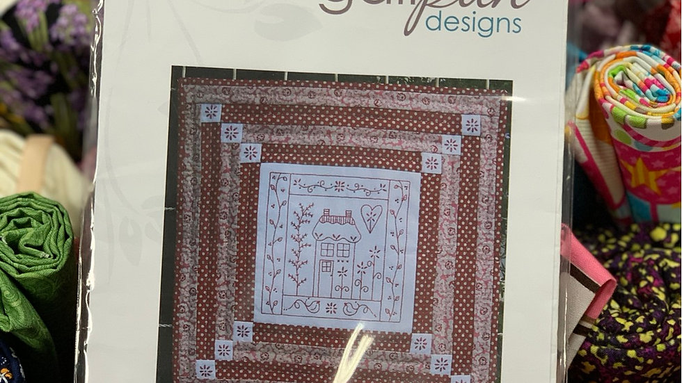 'Ruby Cottage' Pattern - Gail Pan Designs