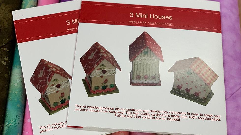 3 Mini Houses Rinske Stevens Boxes