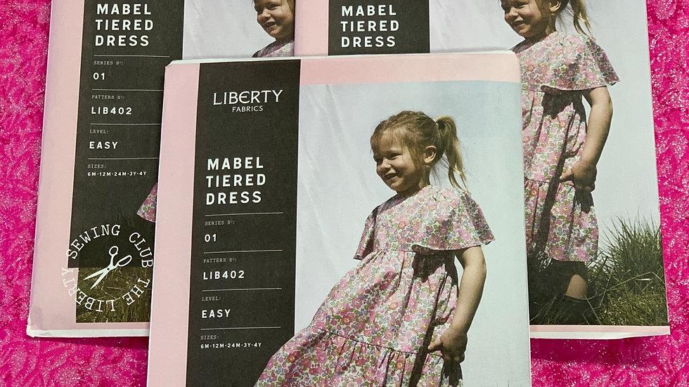 Dress Pattern - 'Mabel Tiered' by Liberty