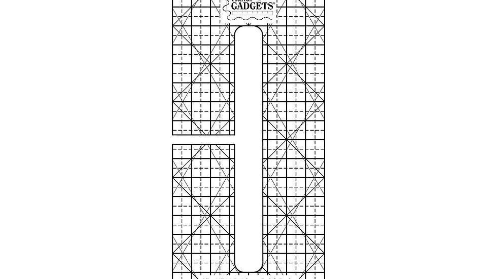 "Line Grid - 6"" x 1/4"""