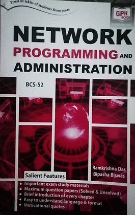 BCS-52 Network Prog & Administration | Gullybaba IGNOU Helpbook | BooQs.in