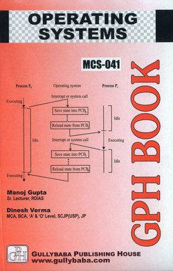MCS-41 - Operating Systems | IGNOU HelpBook | GPH |BooQs.in
