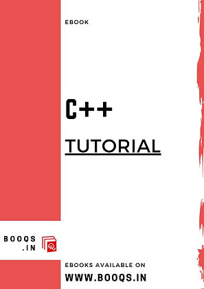 C++ Tutorial - ebook by BOOQS.IN