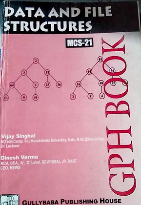 MCS-21 Data and File Structures   Gullybaba IGNOU Helpbook   BooQs.in