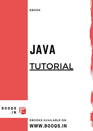 Java Tutorial -ebook by BOOQS.IN