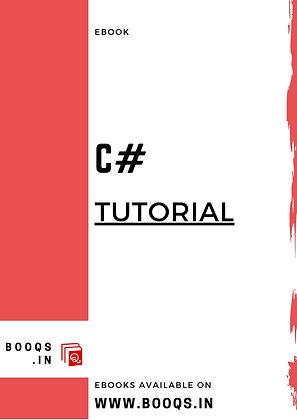 C# Tutorial - ebook by BOOQS.IN
