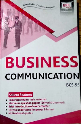 BCS-55 Business Communication | Gullybaba IGNOU Helpbook | BooQs.in