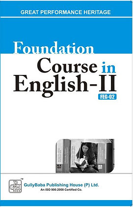 FEG-2 Foundation Course in English-II | Gullybaba IGNOU Helpbook | BooQs.in