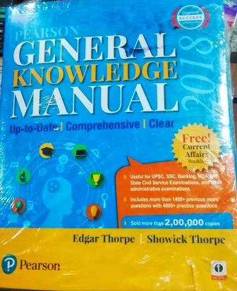 Pearson General Knowledge Manual | Free - Current Affairs Book