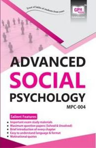 MPC-004 Advanced Social Psychology | Gullybaba IGNOU Helpbook | BooQs.in