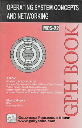 MCS-22 - OS Concepts & Networking Management | IGNOU HelpBook | GPH |BooQs.in