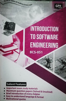 BCS-51 Intro to Software Engineering | Gullybaba IGNOU Helpbook | BooQs.in