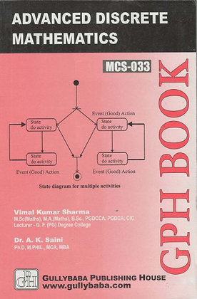 MCS-33 - Advanced Discrete Mathematics | IGNOU HelpBook | GPH |BooQs.in