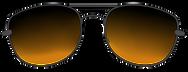 sunglasses black yellow tint.png