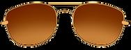 sunglasses gold amber.png