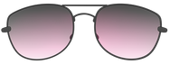 sunglasses black red tint.png