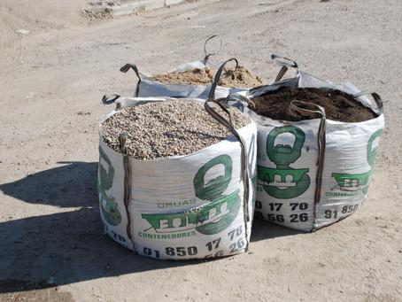 Big bag para escombros: España implementará tasas de residuos para cumplir exigencias europeas