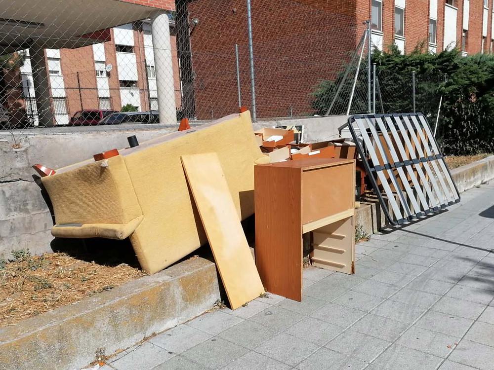 retirada de muebles