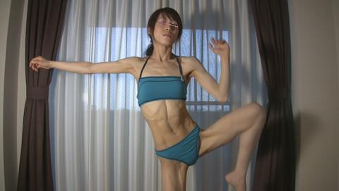 「筋トレ女子の本格的♂射精トレーニング ゆかりクン」