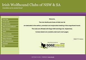 Irish Wolfhound Clubs of NSW and SA