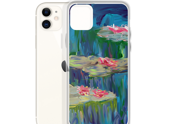 """""""Water Lily"""" 00.6 iPhone Case"""
