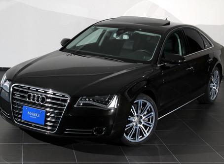 【新入庫情報】Audi A8を掲載しました。