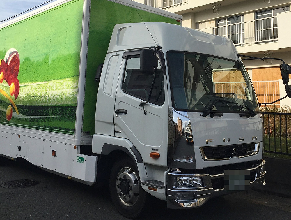 株式会社AMSさん自慢の積載トラック!!