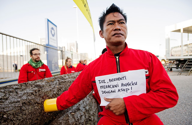 ACTIVITY : Greenpeace Indonesia's Creative Way to Speak Up About Forest Fires