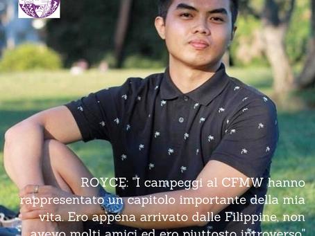 I volti della CFMW: Royce Areev Virtucio