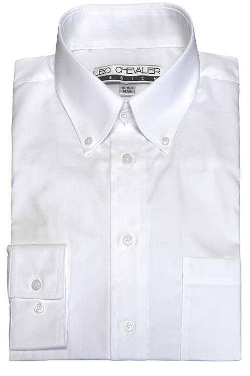 Button Down Wrinkle Resistant Dress Shirt